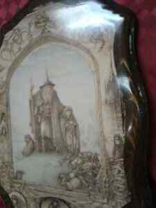 Rare Lord of the Rings  on Wood -Few in the WORLD MADE Windsor Region Ontario image 3