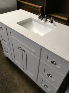 "Lukx 48"" Vanity, faucet, countertop and sink"