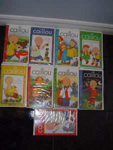 """CAILLOU"" EN VHS"