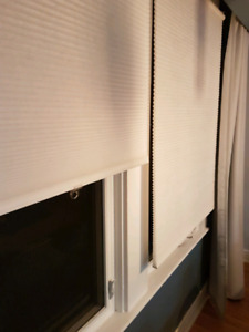 White IKEA blinds