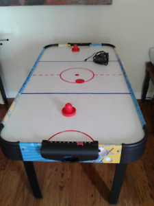 Free standing Air Hockey Game