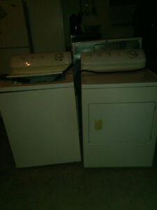 Washer /dryer and stove 5 years old