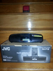 JVC Portable Audio System for I pods and I phones