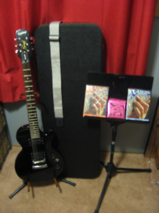 Epiphone Special 11 electric guitar and extras
