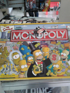 The Simpsons - Monoploy