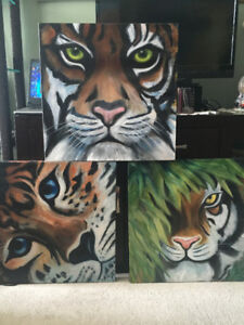 TIGER COLLECTION-oil