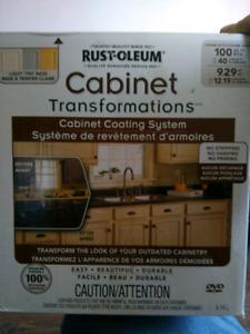 Cabinet transformations kit never used