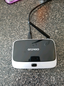 USED ANDROID TV BOX WITH HDMI CABLE, PERFECT CONDITION.
