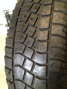 2  Avalanch  Winter  tires  235/65/18