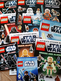Star wars ultimate sticker books