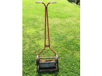 Old push lawn mover