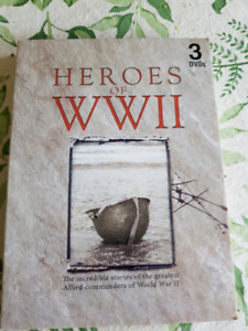 SPECIAL EDITION DVD BOX SET!  HEROS OF WW2  3) DVD'S IN TOTAL