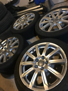 Audi S line Wheels 17ch 5x112 with Tires