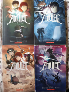Amulet Volumes 1-3 and 5