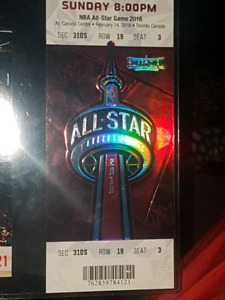 Toronto raptors nba allstar game ticket