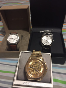 MK/Movado/Burberry Man's watches