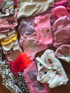 6-9 and 6-12 month girls clothing