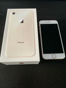 iPhone 8- Rose Gold 64GB
