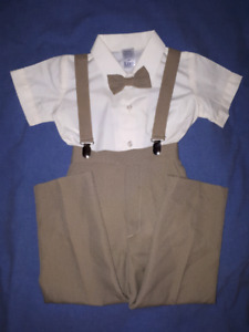 Lito Children's Wear 3pc Suit Holiday Christmas,Size 4T