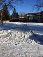 Residential Snow Clearing - Monthly Starting @ $80 - SAVE $$$$