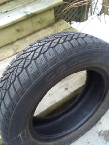 Set of 4 Goodyear Ultra grip tires