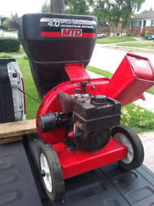 4hp Chipper shredder