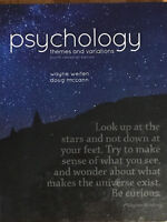 PSYC1013,1023 Psychology themes and variations