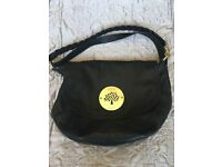 Mulberry Daria satchel black bag. **Genuine**
