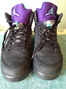Oreo 5 Air Jordan Size 11 Shoes