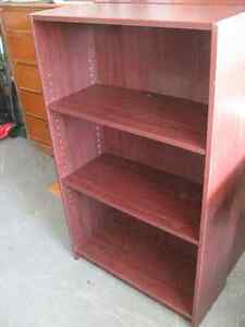 BROWN BOOK CASES   BOOKSHELF  $35.00 EACH  -- TAKE 2   $60.00