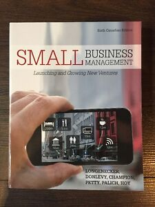 SMALL BUSINESS MANAGEMENT - 6th Canadian Ed.
