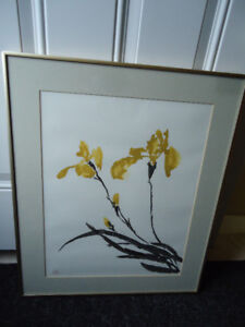 Framed Original Water Color Painting