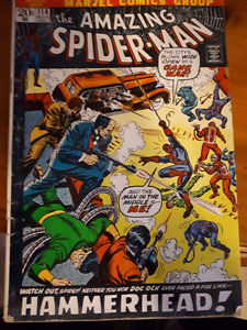 marvel comics the amazing spider-man nov 1972 (#114)