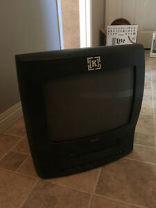 "13"" RCA TV WITH BUILT-IN VHS (COMBO)"