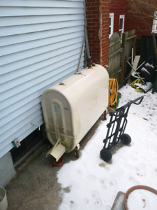 Oil tank/ furnace for pick up/sale
