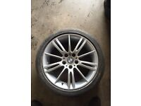 "1x BMW 18"" mv3 alloy wheel 5x120"
