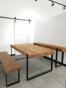 METAL BASE DINING TABLES (WHOLESALE PRICING)