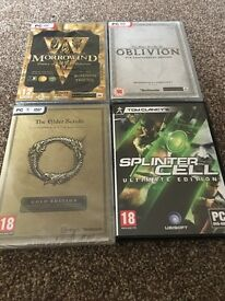 Brand new sealed games for sale/ pc games