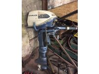 Evinrude 6hp outboard engine, project spares / repairs