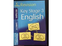Key Stage 3 English Revision book.