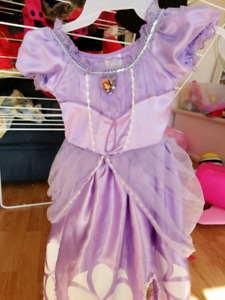Sofia the first dress up costume size 3