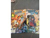 Hawk and Dove comics by DC Comics No 1 and 2