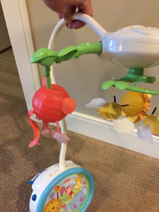 Fisher Price Discover n Grow Twinkling  Lights Projector Mobile