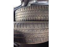 X4 185/65/15 tyres