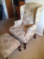 Chair and Ottoman FREE!!