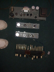 Parts from a Hammond L-100, amp, 2 preamps, drawbars,switches