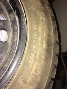 Snow Tires- BF Goodrich  Cambridge Kitchener Area image 1