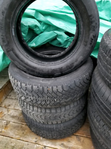 Winter tires in good condition