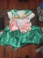 Sailor Jupiter costume fits woman small or girl large