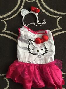 Hello Kitty Dog Costume Size Medium